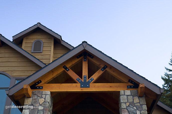 Porch mission wood craftsman