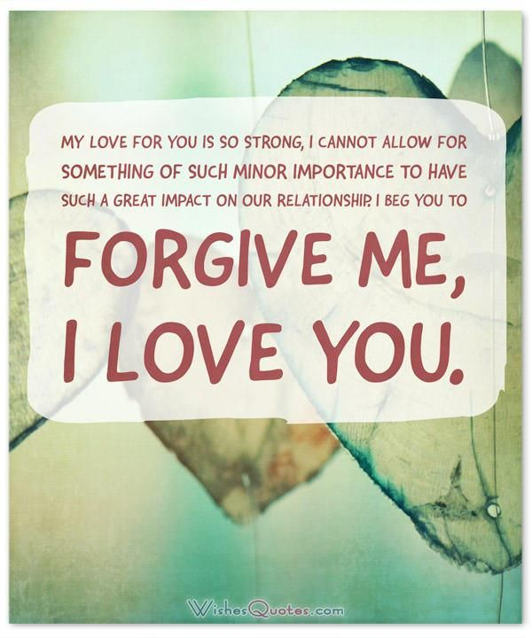 Im Sorry Messages For Boyfriend: Sweet Apology Quotes For