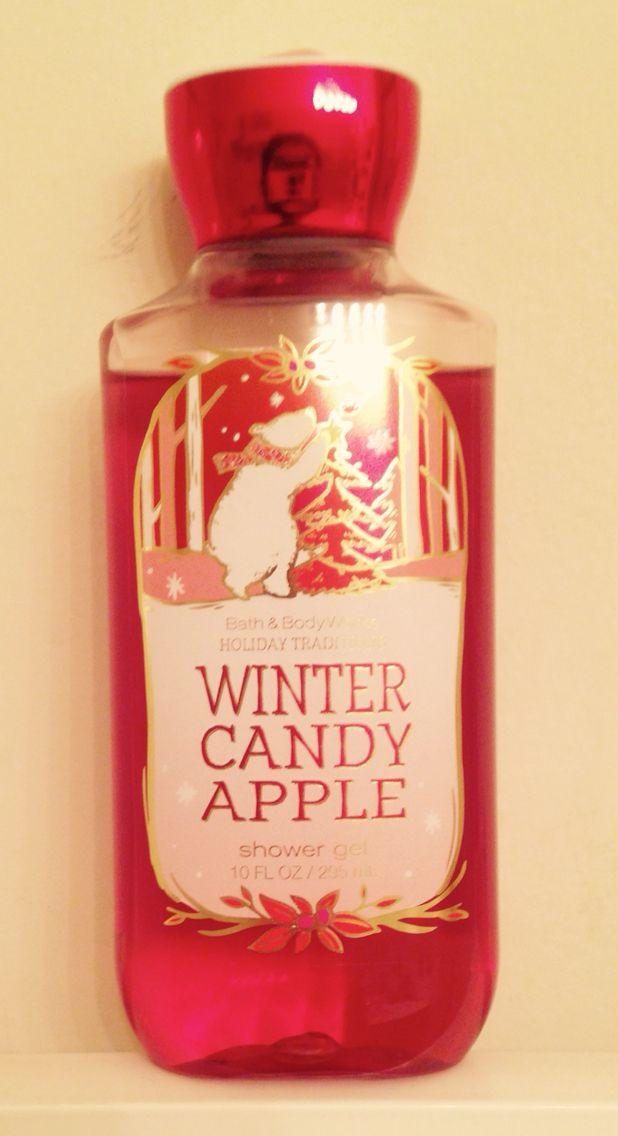 I love this shower gel Apple shower, Winter candy apple