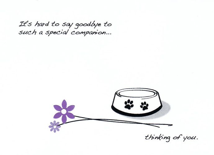 homemade pet sympathy card hand made pet sympathy card featuring a