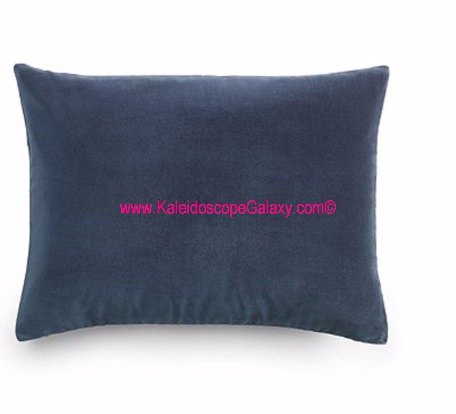 Blue decorative bed pillows - Decorative Bed Pillows 115630 Ralph Lauren Corso Campania Velvet Blue Throw Pillow Nwt
