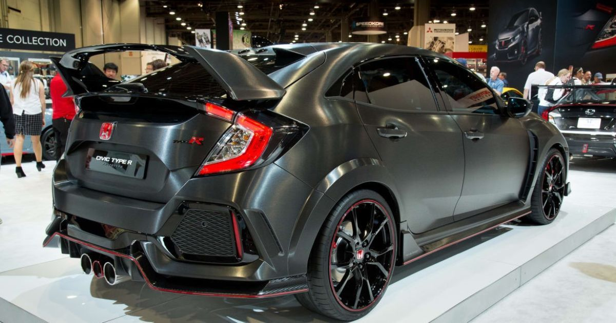 Honda Unveils Super Hot Civic Type R Prototype Usa Today Honda Civic Type R Honda Civic Honda Civic Price