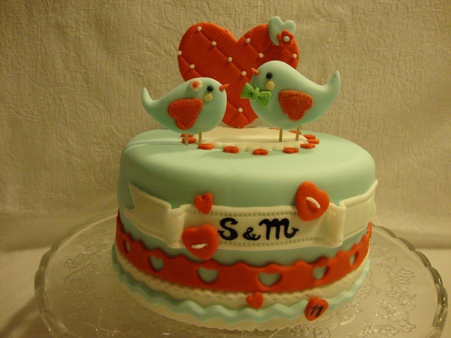 11th Anniversary Anniversary Cake 11th Anniversary Party Cakes