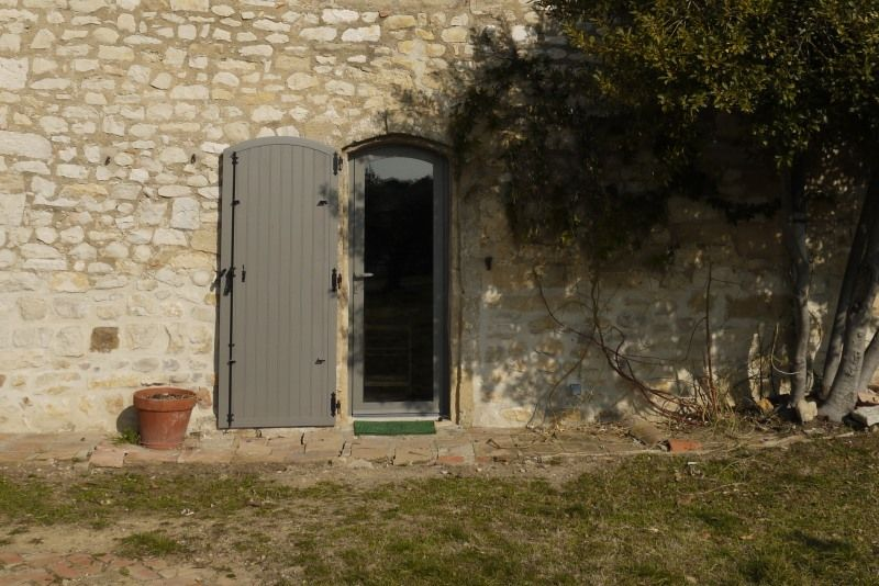 Volets en aluminium sur mas provençal | façade | Pinterest | Volet ...