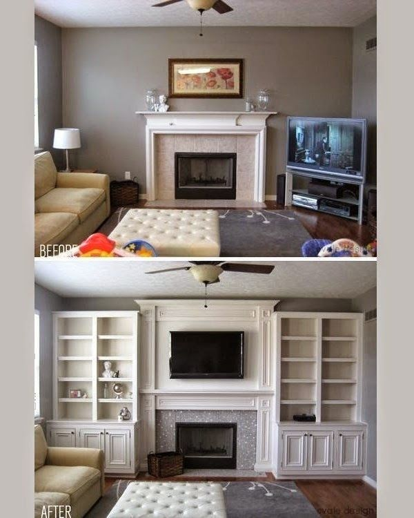 15 Functional Living Room Shelving Ideas And Units ...