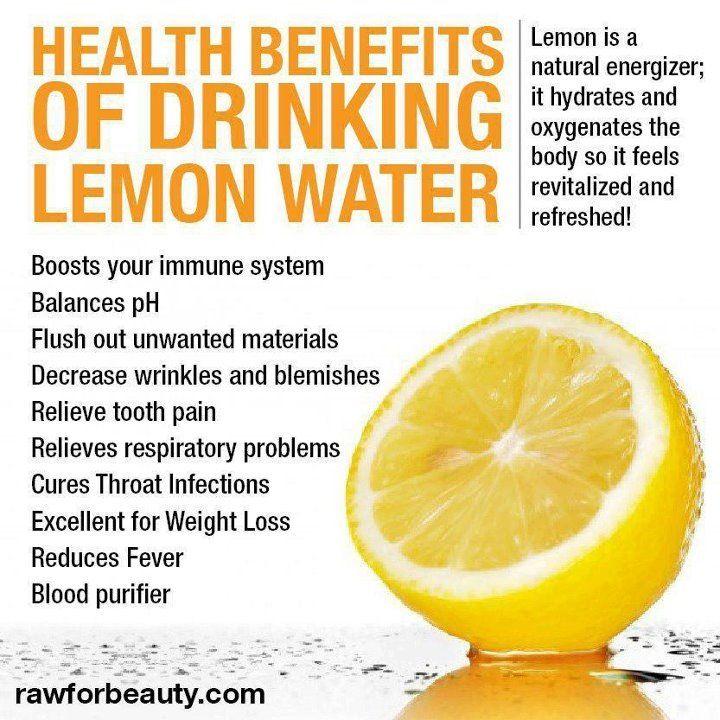 Lemon water rocks!