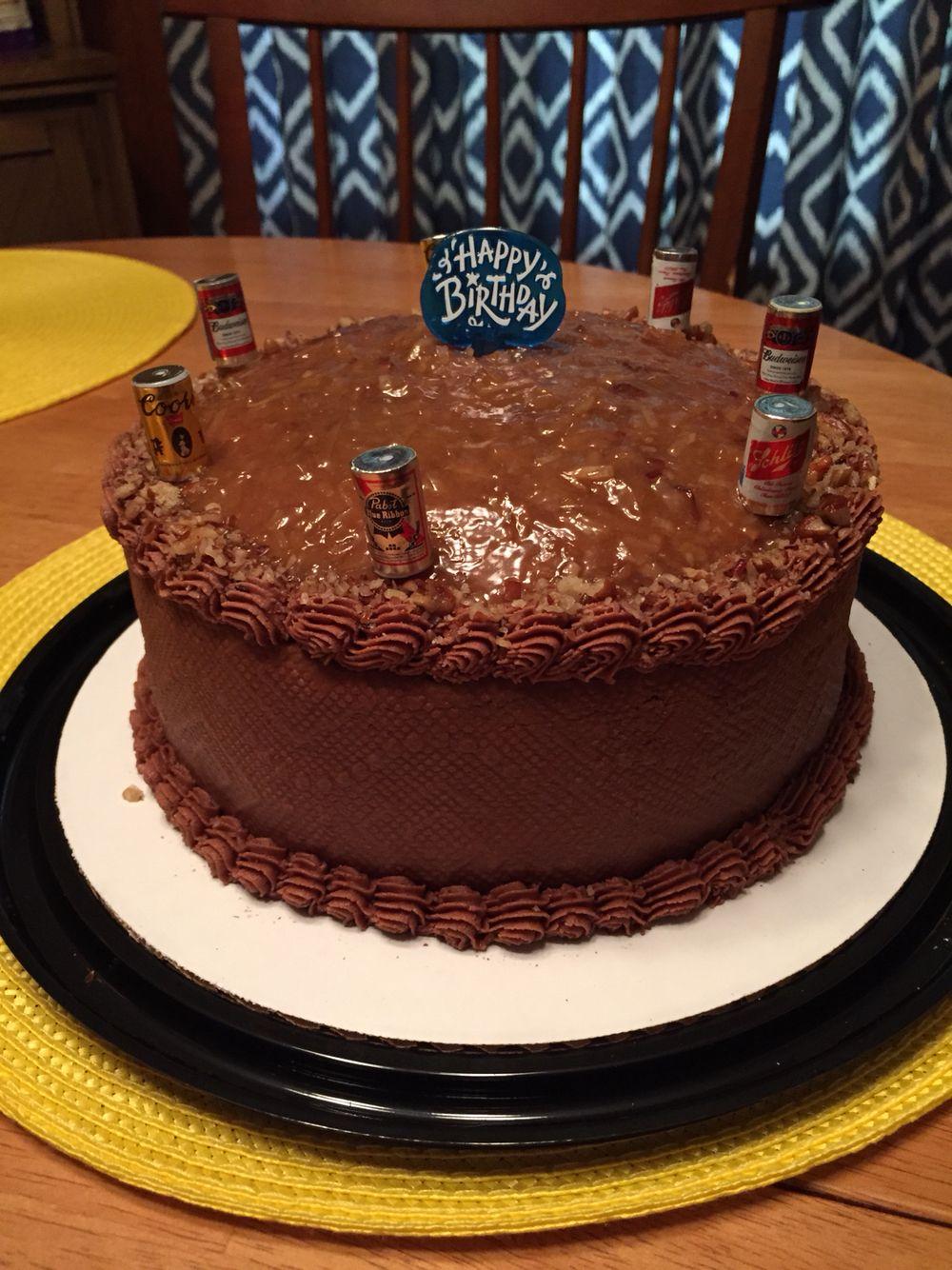 Happy birthday German chocolate cake 7.3.15 | HOME BAKED Cakes