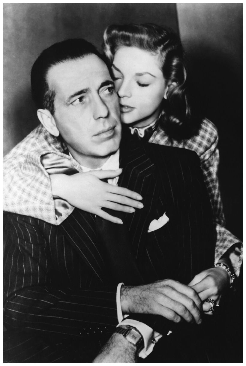 Lauren Bacall and Humphrey Bogart 1947