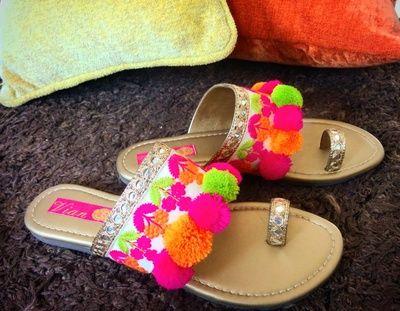 Wedding Ideas & Inspiration | Pom pom slippers, Pom pom