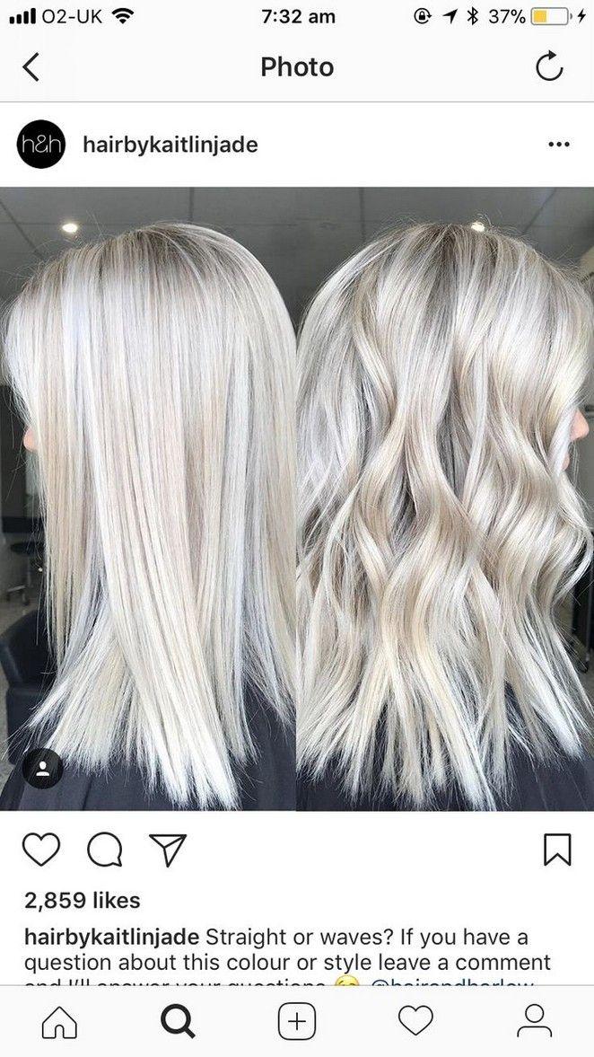 17+ Medium length platinum blonde hair ideas in 2021