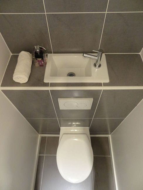 Un Lave Mains Sur La Chasse Deau Beautiful Bathrooms Salle De