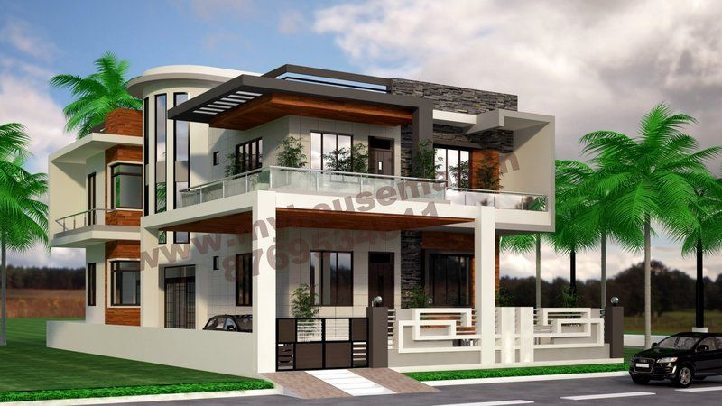 House-map | Front elevation design | house map | building ...
