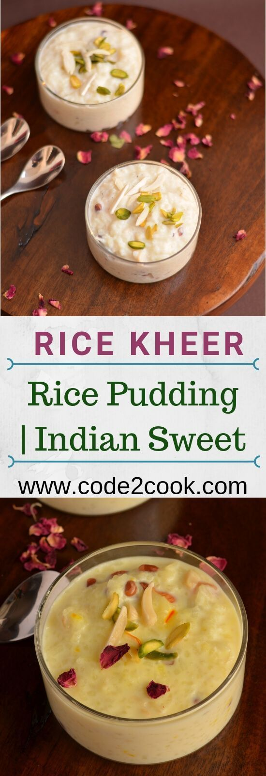 Recipe   Indian Rice Pudding   How To Make Rice Kheer -