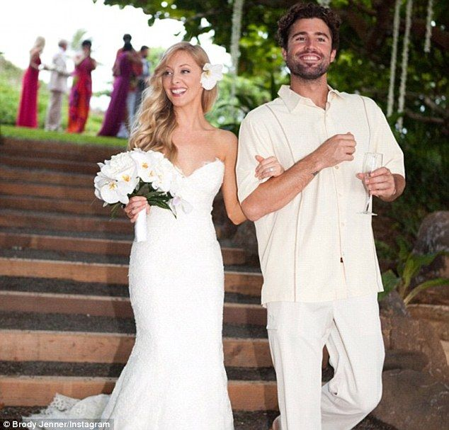Brody Jenner With Sister In Law Leah Jenner Celebrity Weddings