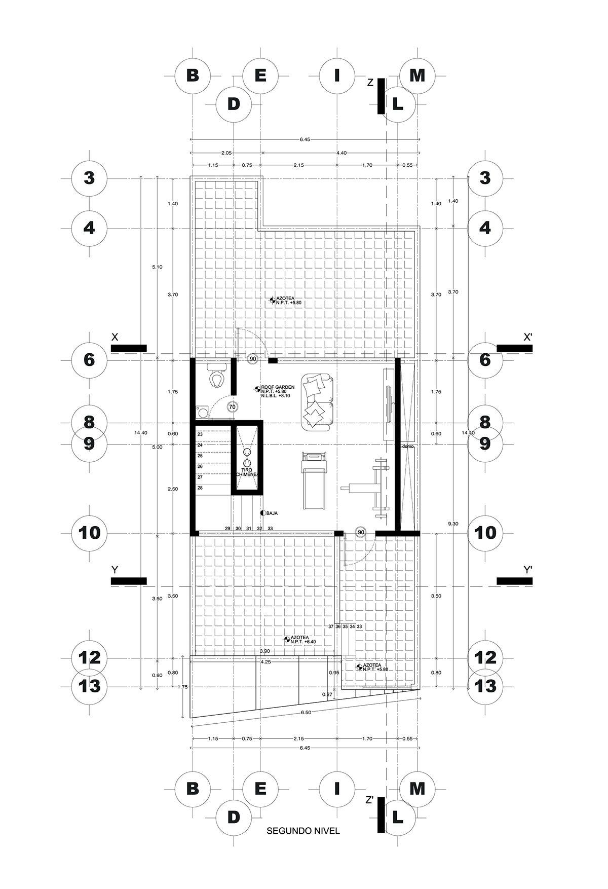 3 floor house located in Puebla Mexico with a contemporary