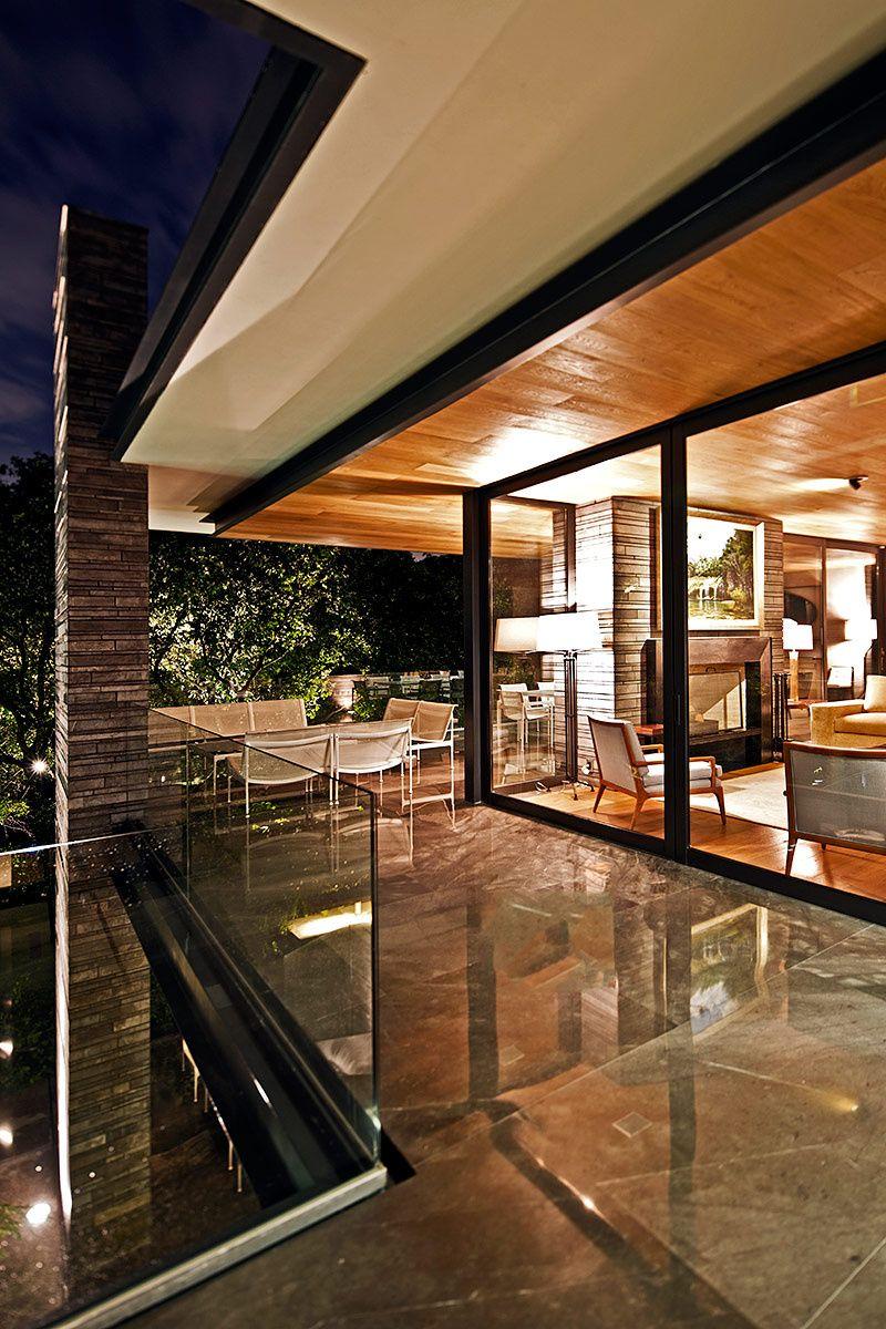 Residencia por pascal arquitectos restaurante tecpan for Casa moderna restaurante salta