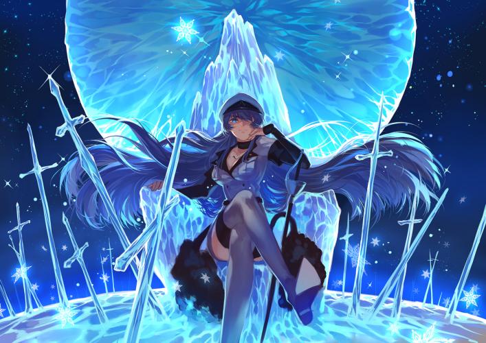 Top 10 Characters Who Wield The Power Of Ice Best List Akame Ga Kill Akame Ga Anime