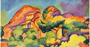 238e37d0cd 1907 George Braque Landscape at La Ciotat