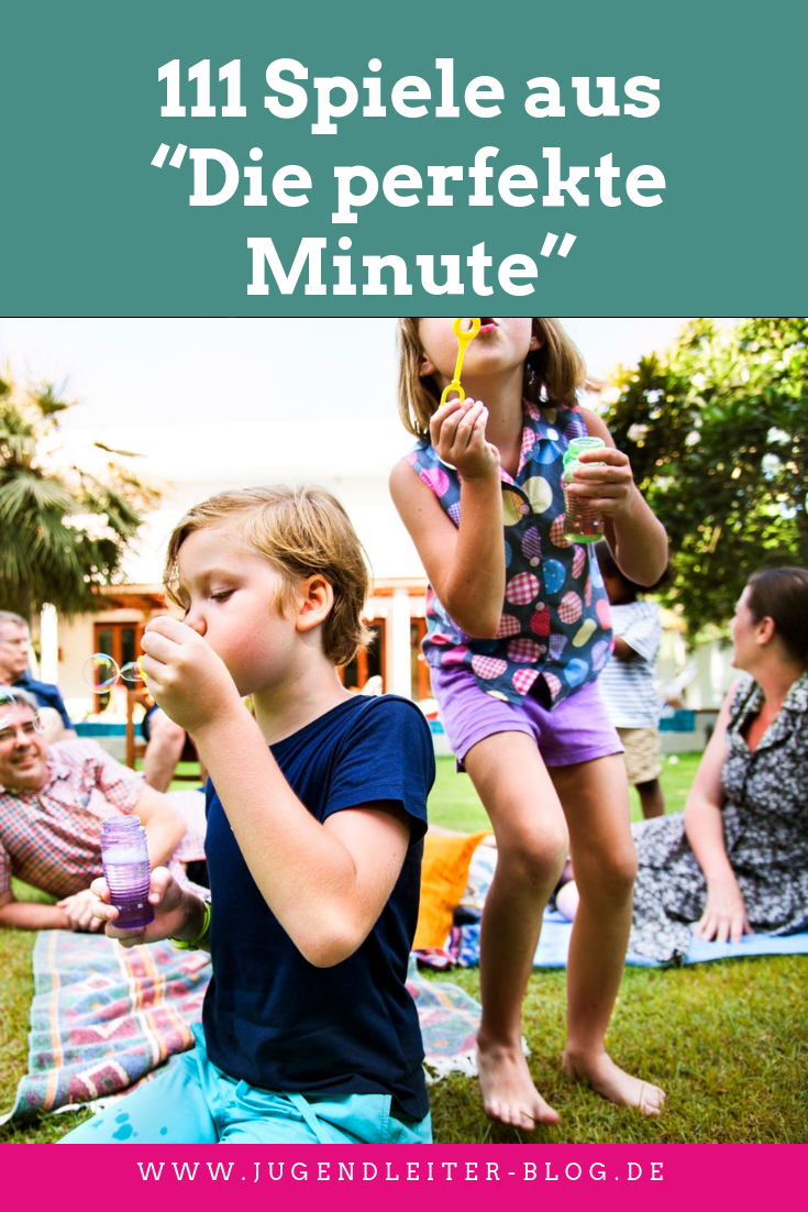 """Photo of Over 111 games from """"The Perfect Minute"""" for group lessons, play streets and holiday camps"""