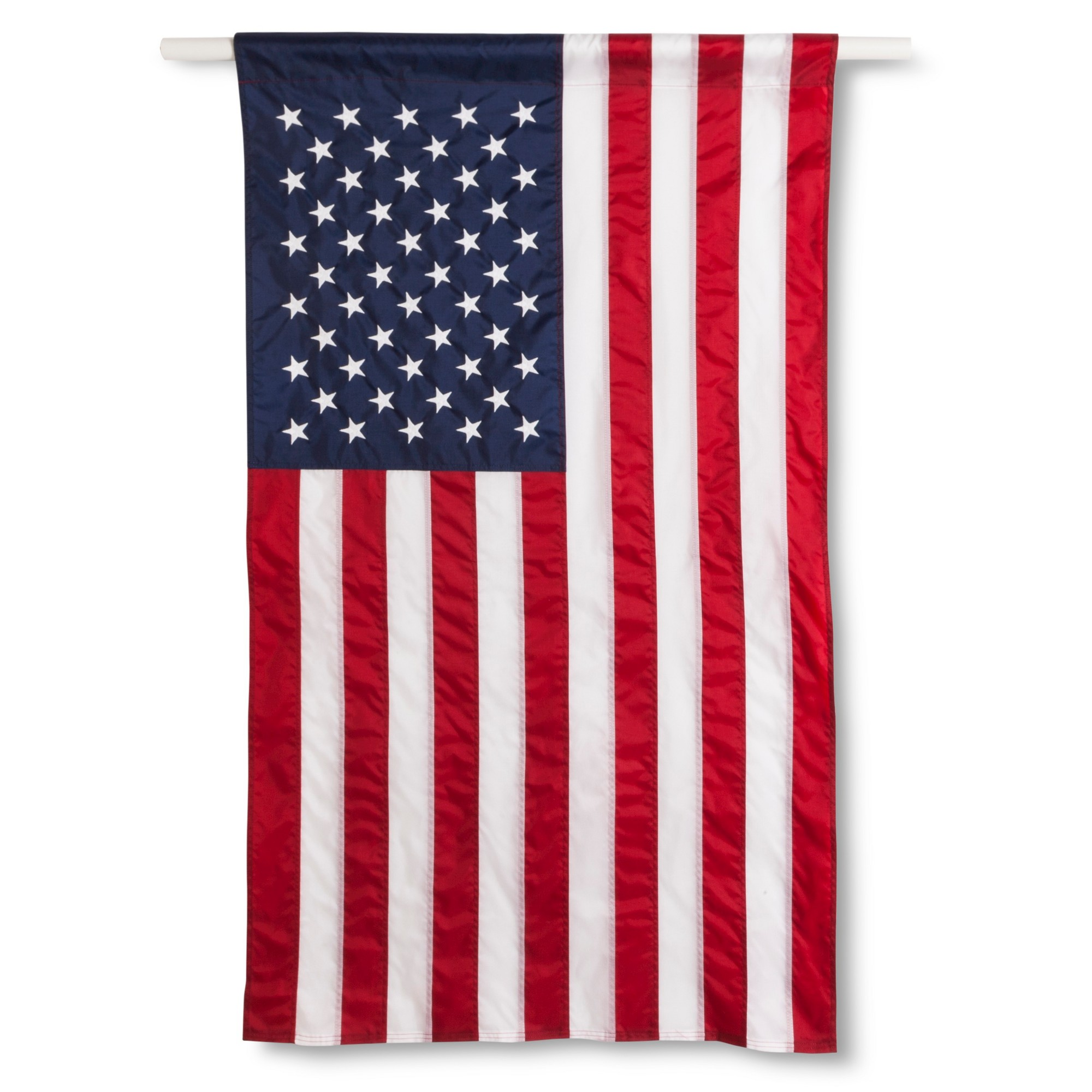 Annin Embroidered American Flag Banner 2 5 X 4 New American Flag American Flag Flag Display