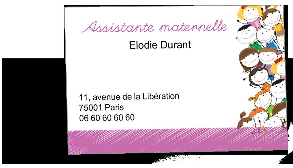 carte de visite assistante maternelle Carte de visite assistante maternelle (avec images) | Carte de