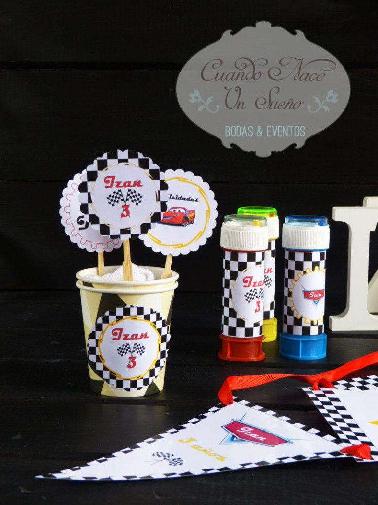 Kits de fiesta de cumplea os kit de cars decoraci n - Fiesta cumpleanos infantil ...