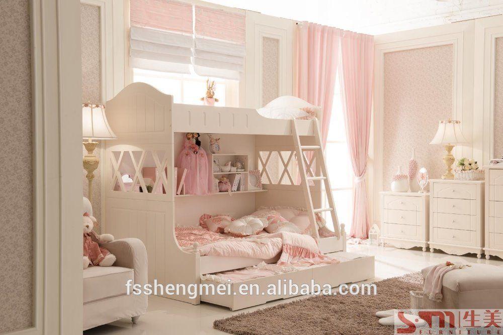Slaapkamer Meubels Kind : Massief hout en mdf kids slaapkamer meubels stapelbed voor