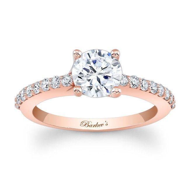 Rose Gold Engagement Ring 7904lp Rose Gold Engagement Ring Wedding Rings Unique Rose Gold Diamond Ring Engagement