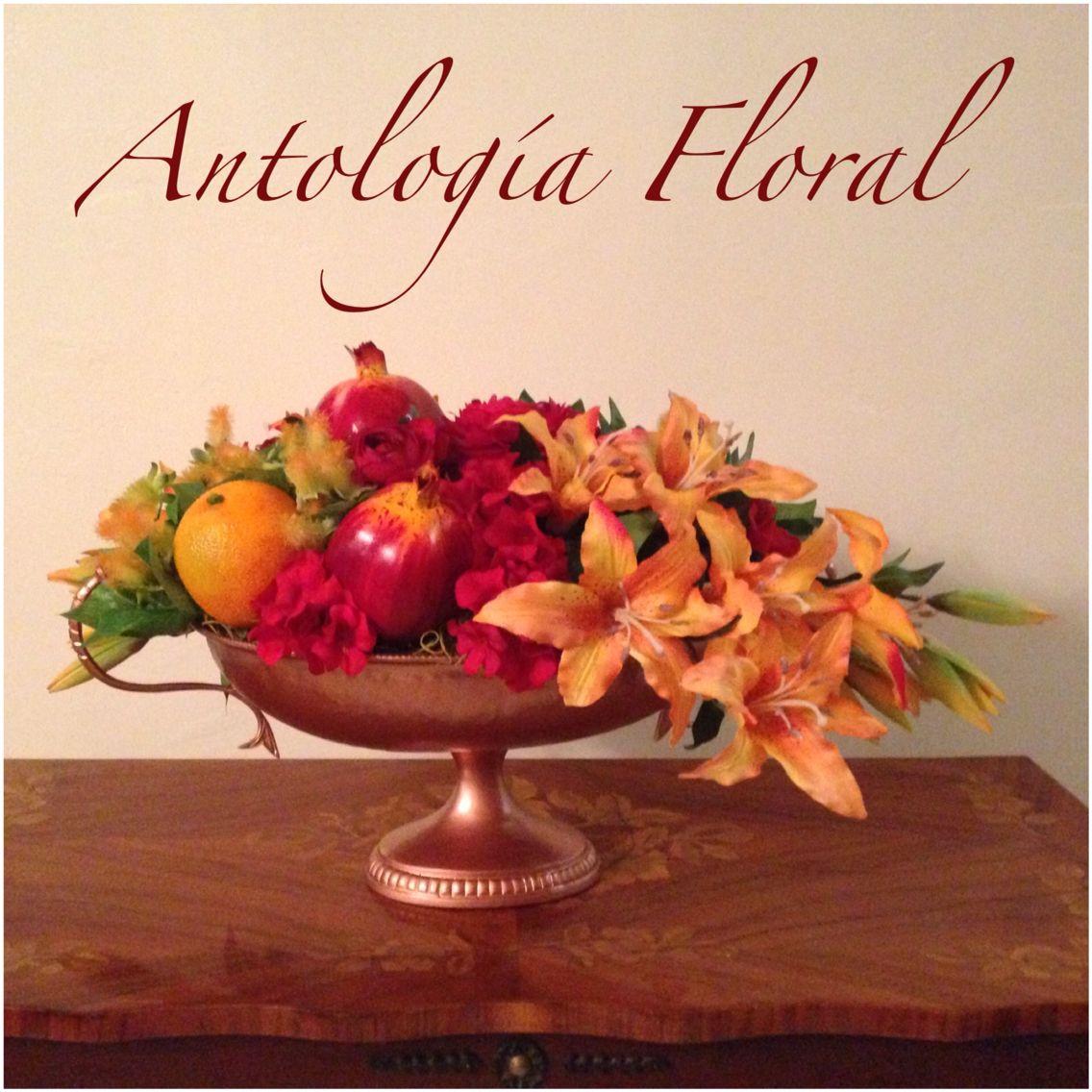 Arreglos de flores y frutas artificiales en colores rojo y - Arreglos de flores artificiales ...