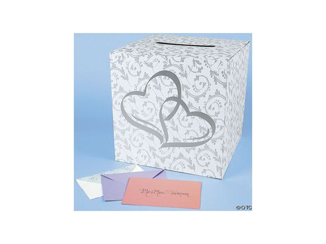 Two Hearts Wedding Theme Two Hearts Wedding Card Box Party