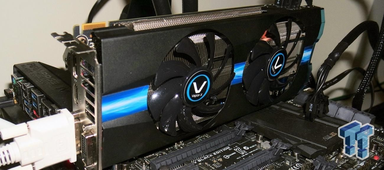 Sapphire Radeon R9 270X 2GB Vapor-X OC Overclocked Video Card Review