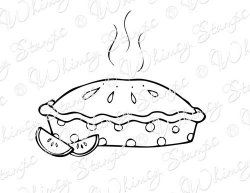 25+ Apple pie clipart black and white info