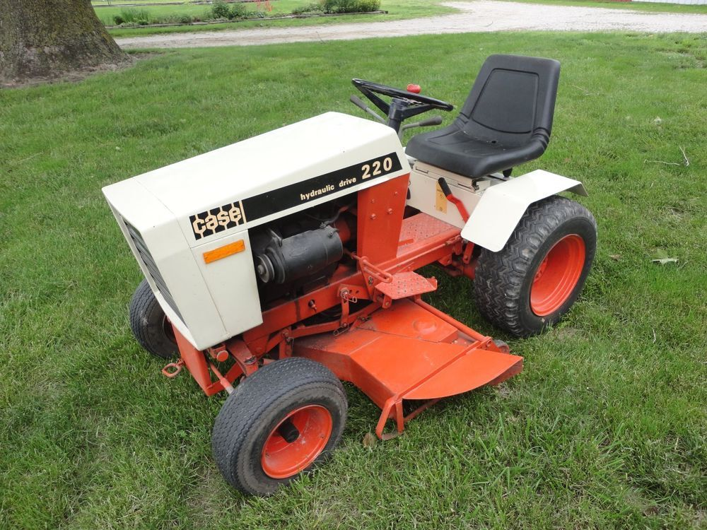 Case International Garden Tractors : Antique case garden tractor gardens and