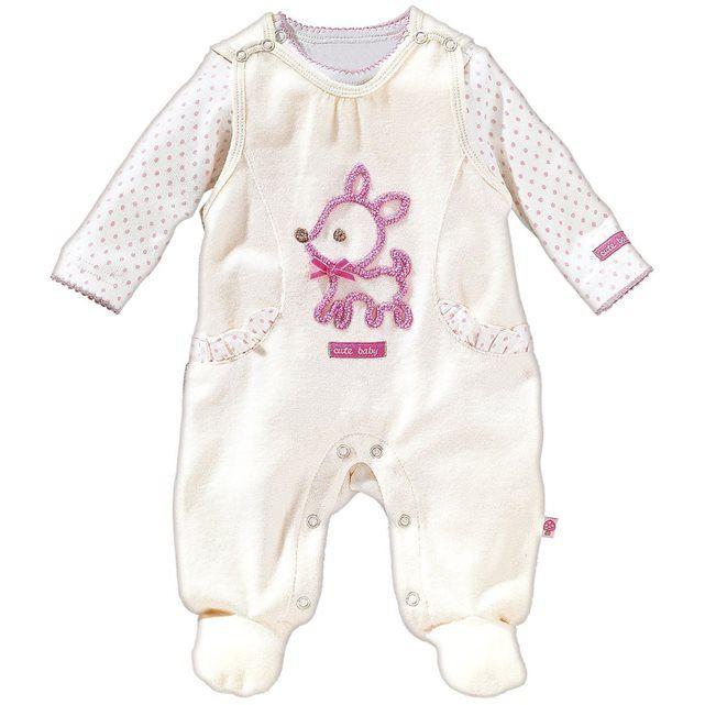 BORNINO Grenouillère avec T-shirt bébé ensemble bébé BORNINO b642ef13404