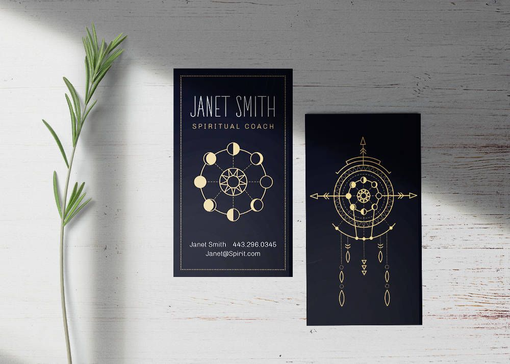 Business Card Reiki Spiritual Masseuse Light Worker Moon Coach Healer Magic Sacred Geometry Shaman Universe Metaphysical New Age Reiki Sacred Geometry Spirituality