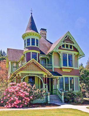 98 Victorian House 2020 小さい家 インテリア エクステリア