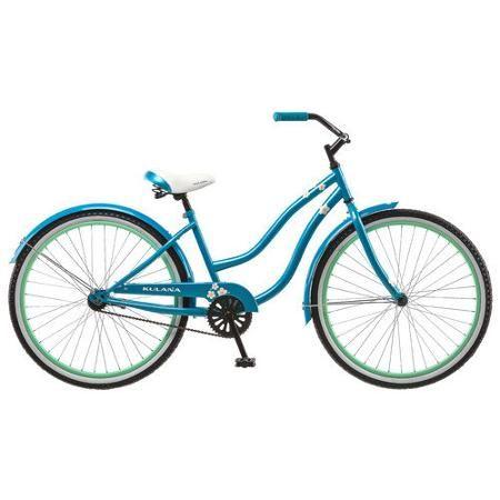 Kulana Women S Cruiser Bike 26 Inch Blue Cruiser Bike Beach