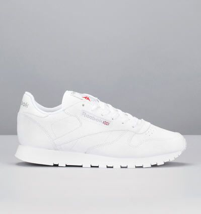 Reebok Monshowroom Blanches Baskets Cuir Pinterest Classic Blanc ZwInAqX