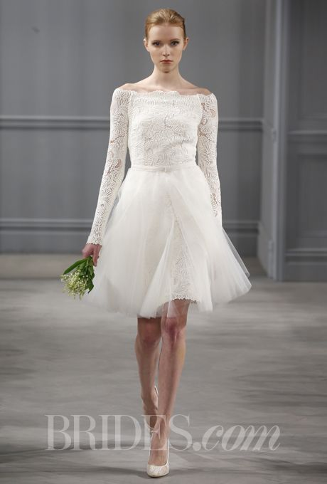 Monique Lhuillier Spring 2014 In 2018 Wedding Day