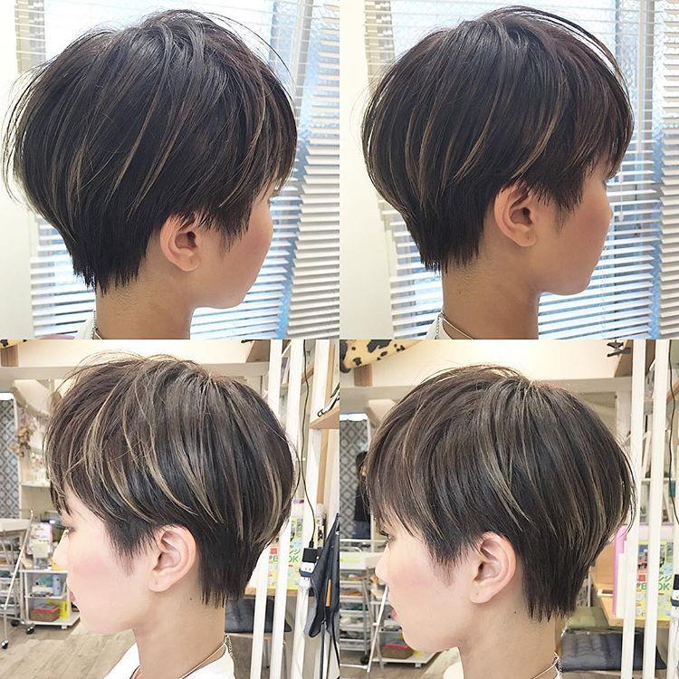 ショート ベリーショート ボブ 福岡 Coast 溝口優人さんはinstagramを利用しています ベリーショートスタイル スッキリ感と涼しさがポイントです ベリーショート ショートヘア Highlights Kurze Haare Haar Styling Kurzhaarschnitte