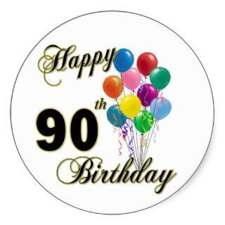 Awesome 90th Birthday Clip Art