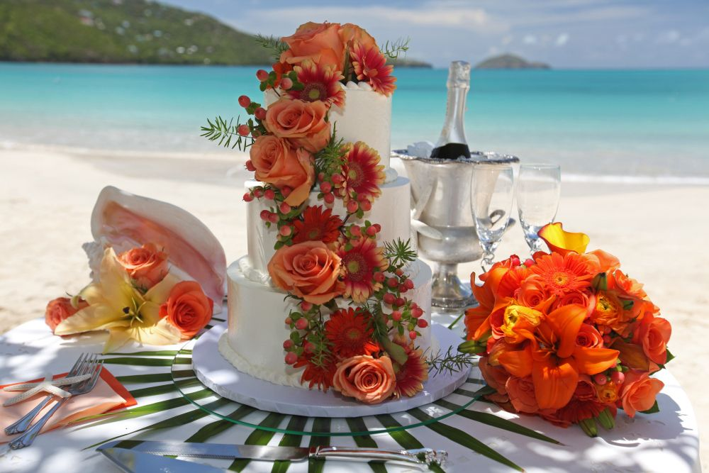 Wedding Cakes The Sweet Life Bake Weddings Island Way St Thomas