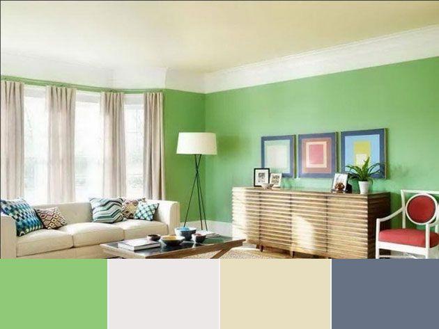 40 Combinaciones De Colores Para Pintar Un Salon Mil Ideas De Decoracion Decoracion De Interiores Colores De Interiores Pintar La Sala