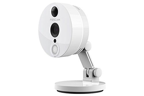 Foscam C2W  Indoor 1080P FHD Wireless Plug and Play IP Camera (White)