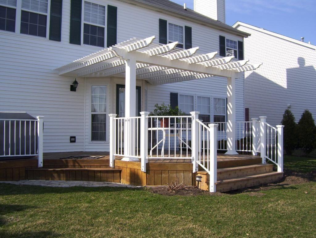 Front Porch Pergola Pergola In Plainfield Il Pergola