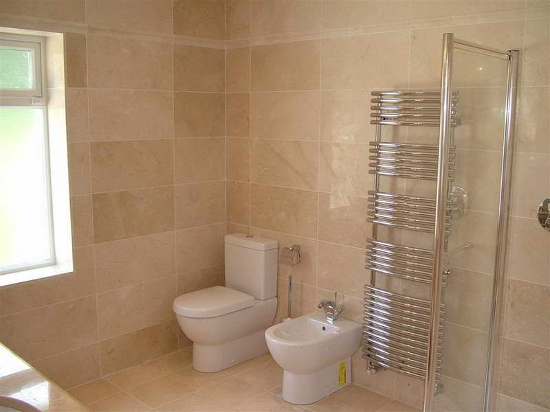 large tile in bathroom - Google Search | Simple bathroom ...