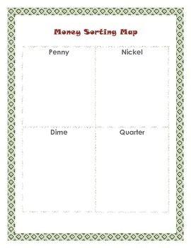 money sorting map math pinterest math worksheets and students. Black Bedroom Furniture Sets. Home Design Ideas