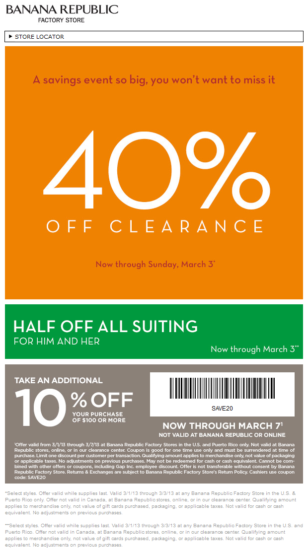 Extra+40+off+clearance+and+more+at+Banana+Republic