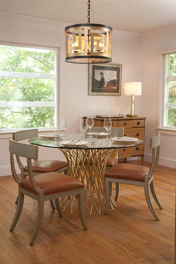 This Living Room Features Niermann Weeks Tissage Dining