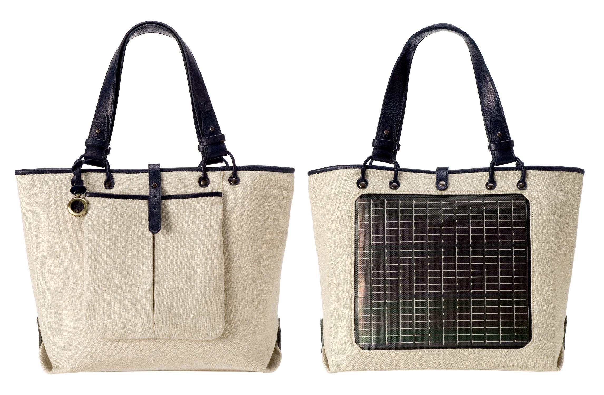 Solar Powered Purse Solar Power Renewable Energy